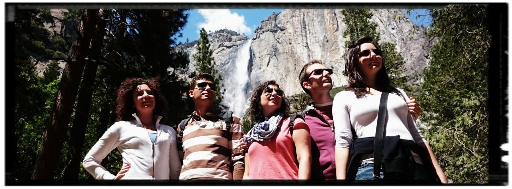 Yosemite Falls nel parco nazionale