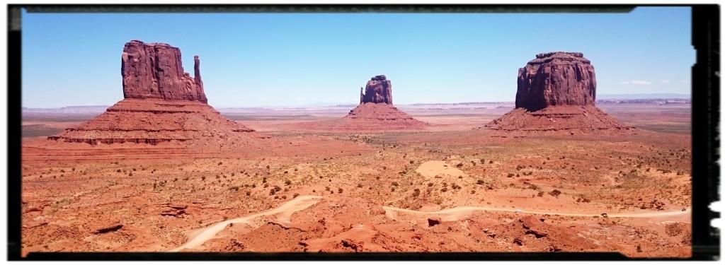 La Monument Valley lungo il viaggio fai da te negli USA