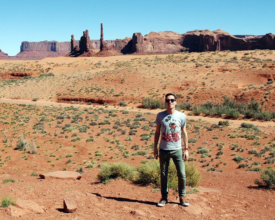 Il parco della Monument Valley negli USA