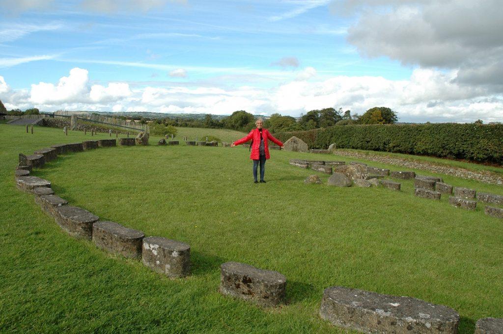 Cerchio di pietre celtiche a Bru Na Boinne