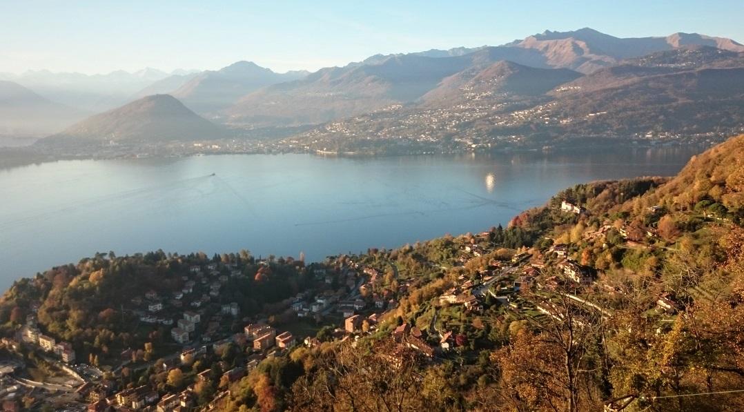 funivia sasso del ferro_panorama sul lago maggiore