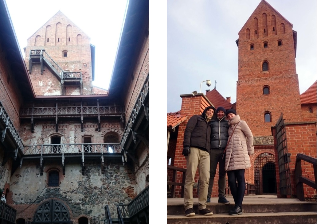 cosa vedere al castello di trakai in lituania da vilnius