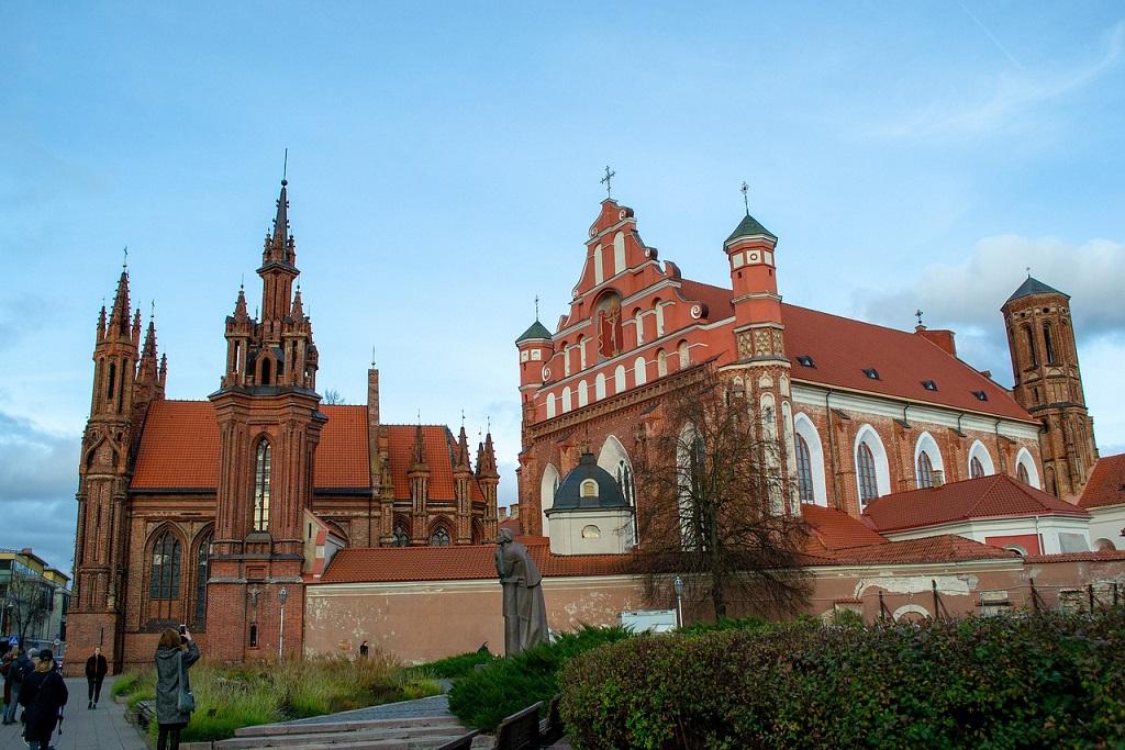 Chiesa di Sant'Anna a Vilnius: cosa vedere