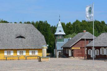 Una sezione del Museo Etnografico all'Aperto della Lituania