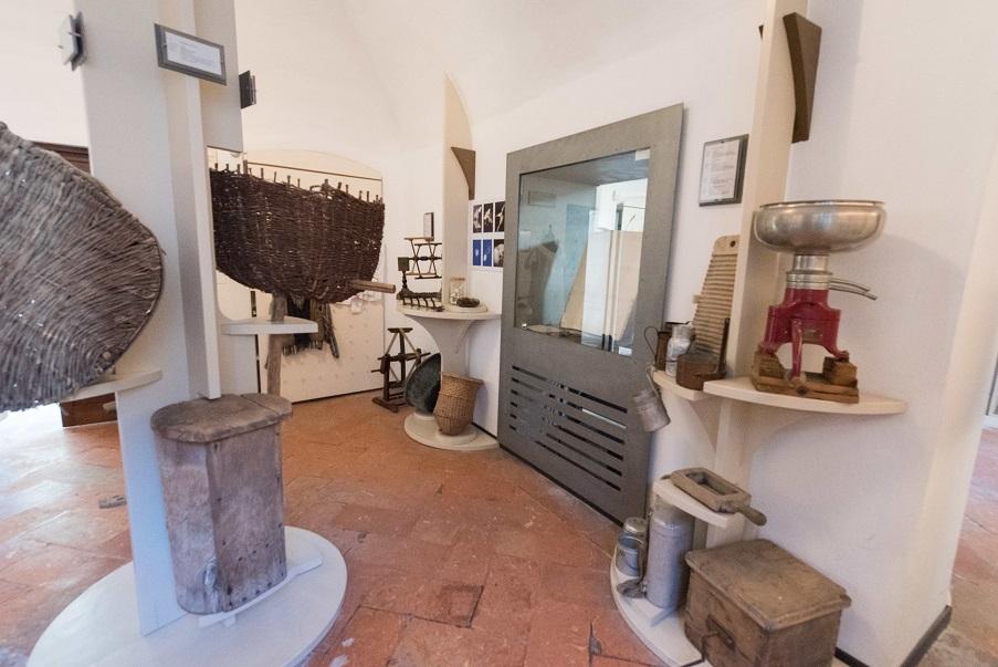 Una sezione del Museo Cavellas