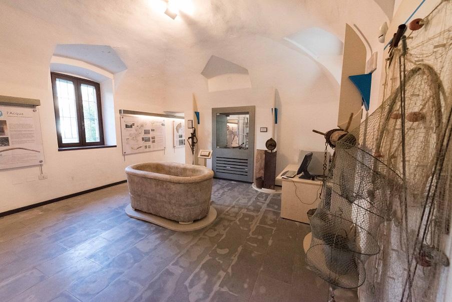 Una sezione del Museo Cavellas, il Museo della Val Cavallina