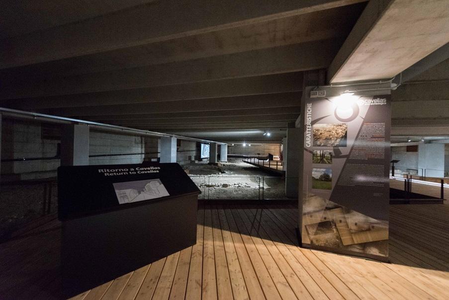 L'area archeologica di Cavellas sotto il supermercato di Casazza