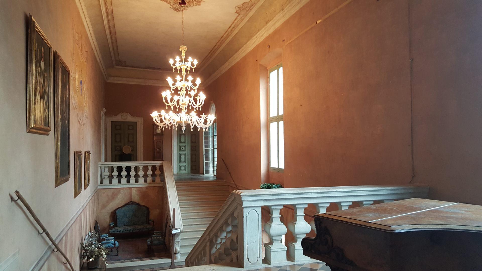 castello padernello interni visita guidata
