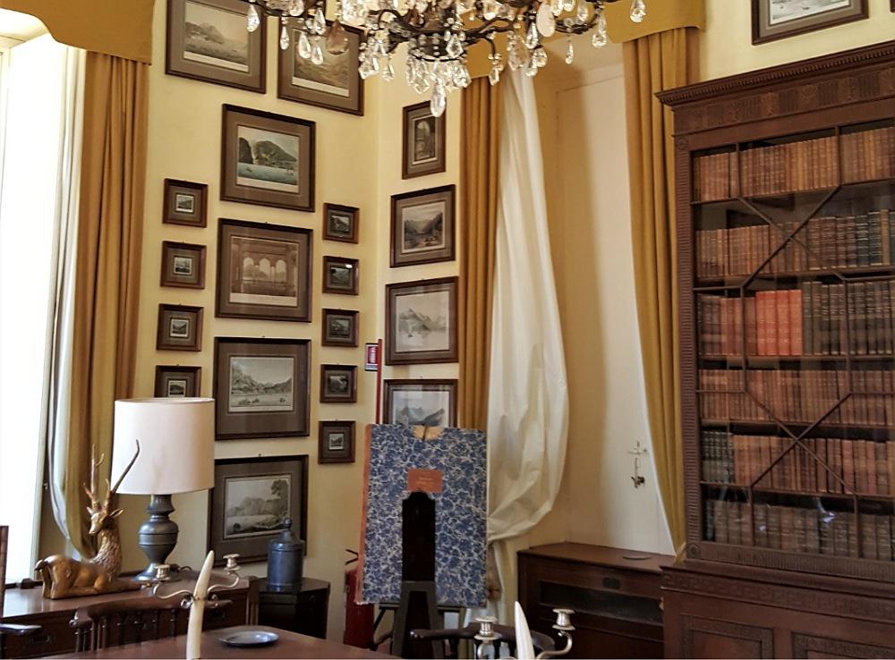 interni di VILLA DEL BALBIANELLO