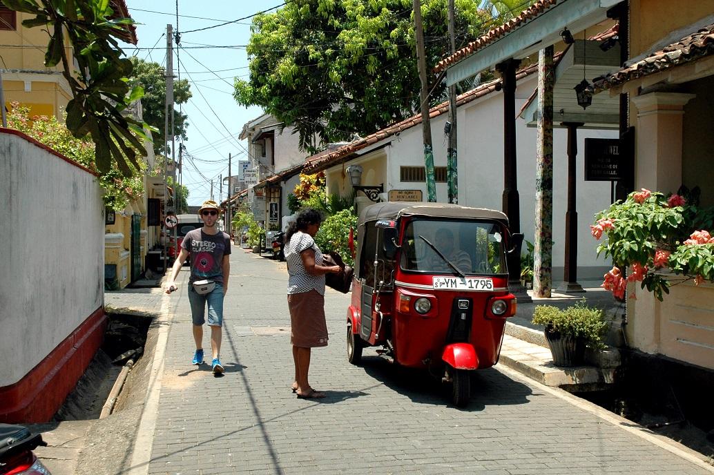 Le strade nel Forte di Galle: organizzare un viaggio in Sri Lanka e Maldive fai-da-te