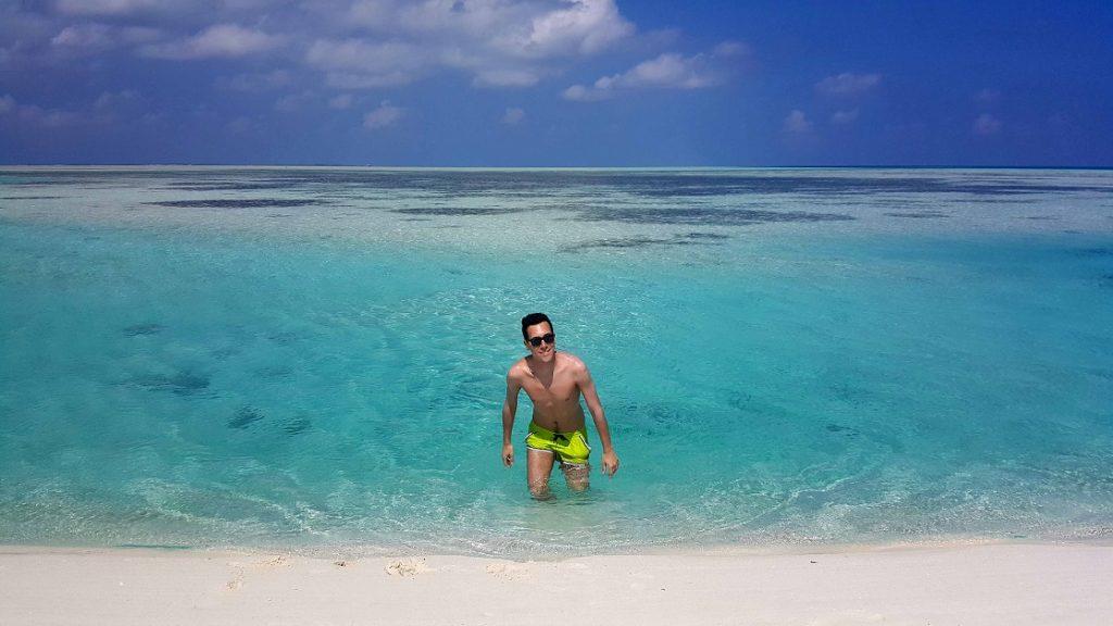 Il mare delle Maldive: fai da te