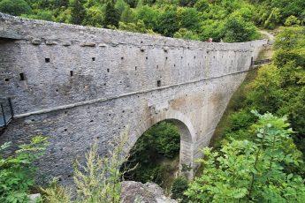 PONT D'AEL visitare il ponte e l'acquedotto romano in Valle d'Aosta