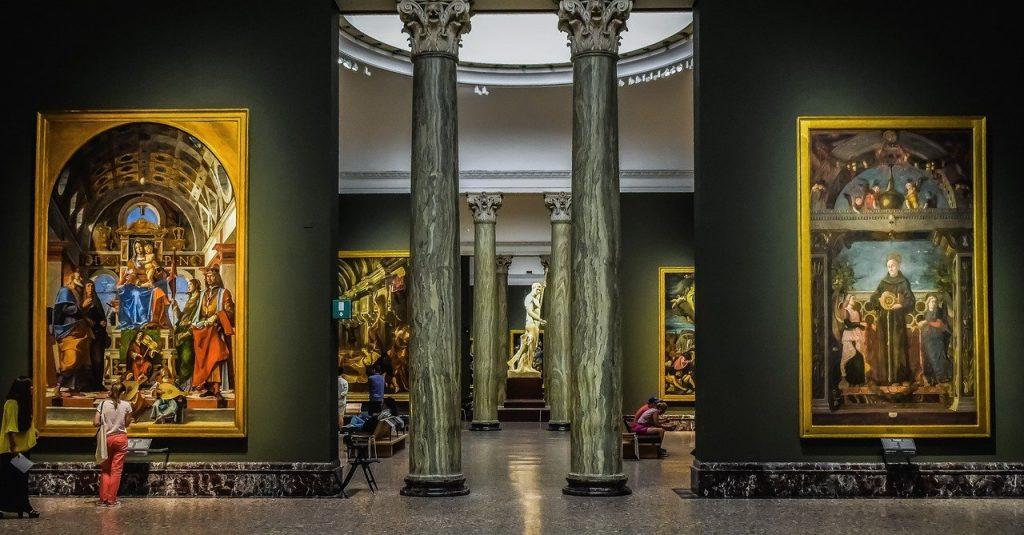 Quadri nella Pinacoteca di Brera a Milano: tempi di visita