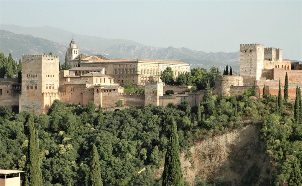 Il palazzo dell'Alhambra di Granada