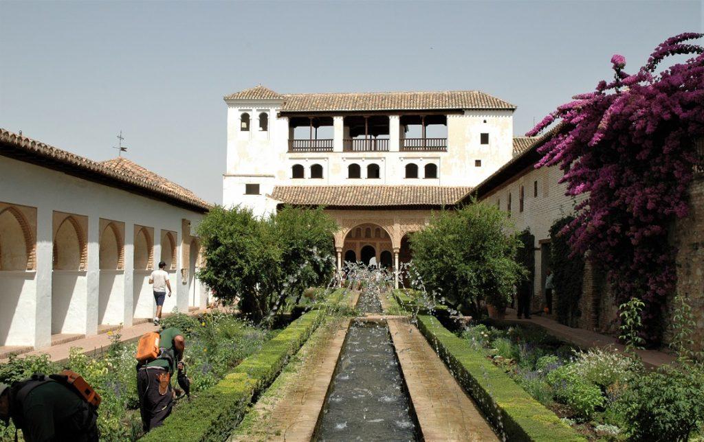 Generalife dell'Alhambra di Granada