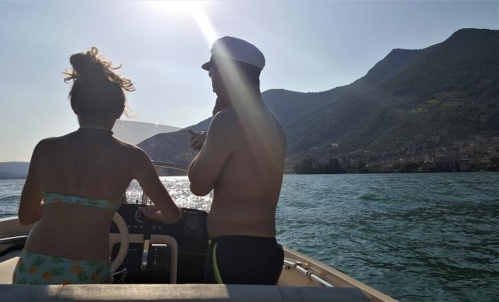 barca a noleggio_lago iseo_itinerario