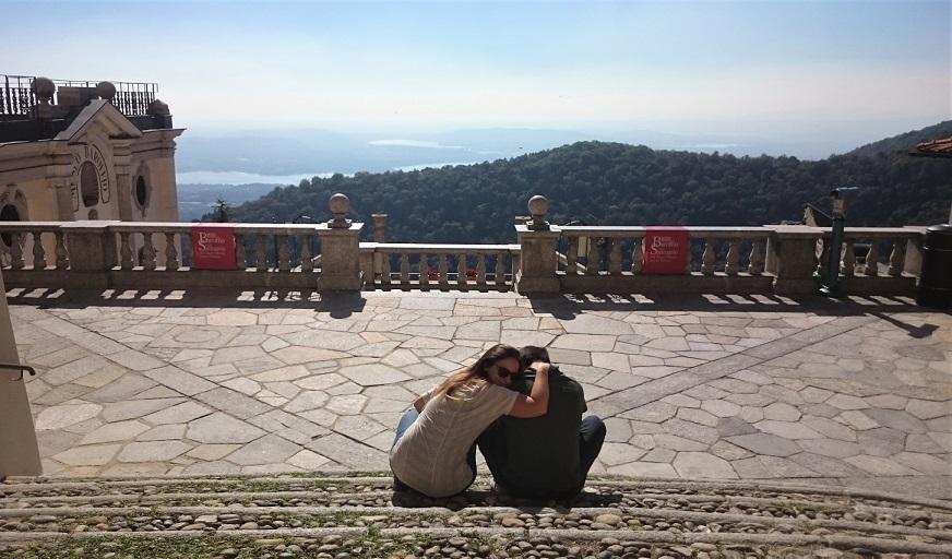 panorama dal sacro monte di varese