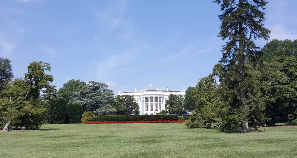 Casa Bianca a Washington tra le cose da vedere