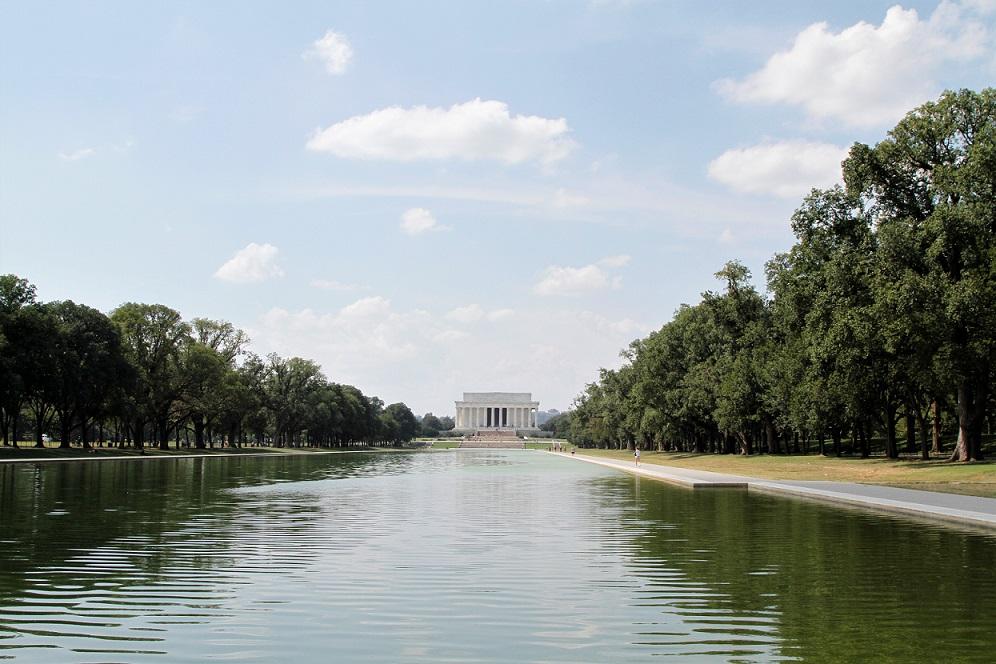 Il Mall e il Lincoln Memorial