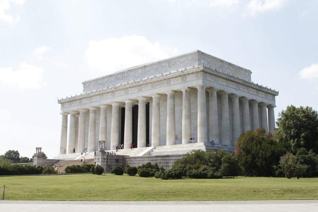 Lincoln Memorial lungo il Mall