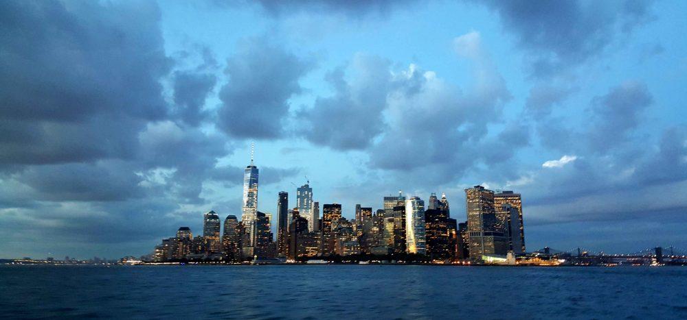 skyline manhattan_crociera al tramonto_new york