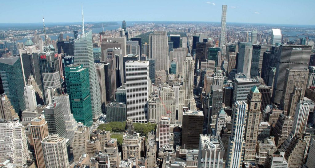 Panorama dall'Empire State Building