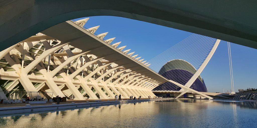 Ciudad de las Artes y las Ciencias a Valencia