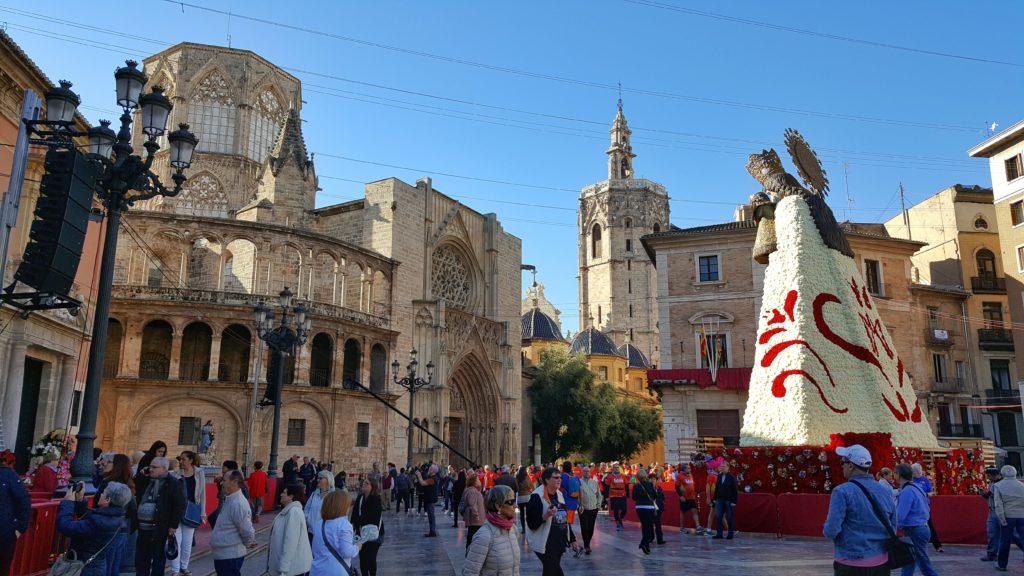 Placa de la Virgen a Valencia