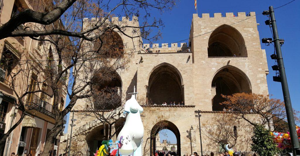 Porta de Serranos: cosa vedere a Valencia in 3 giorni