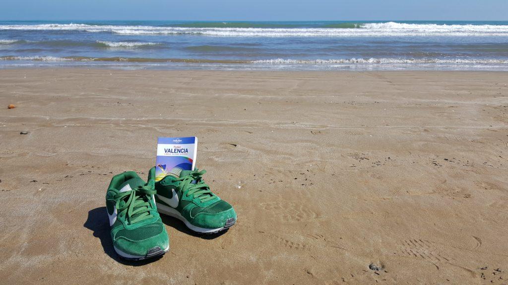 La spiaggia di Valencia nel diario di viaggio
