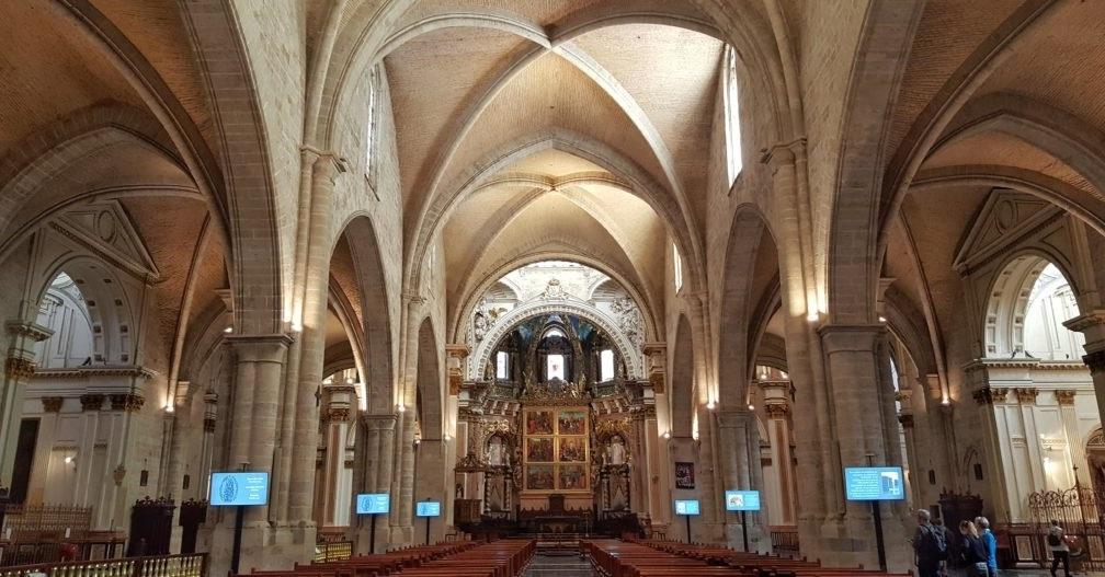 Interni della Cattedrale di Valencia