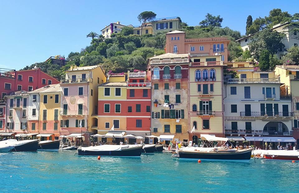 Le case colorate di Portofino