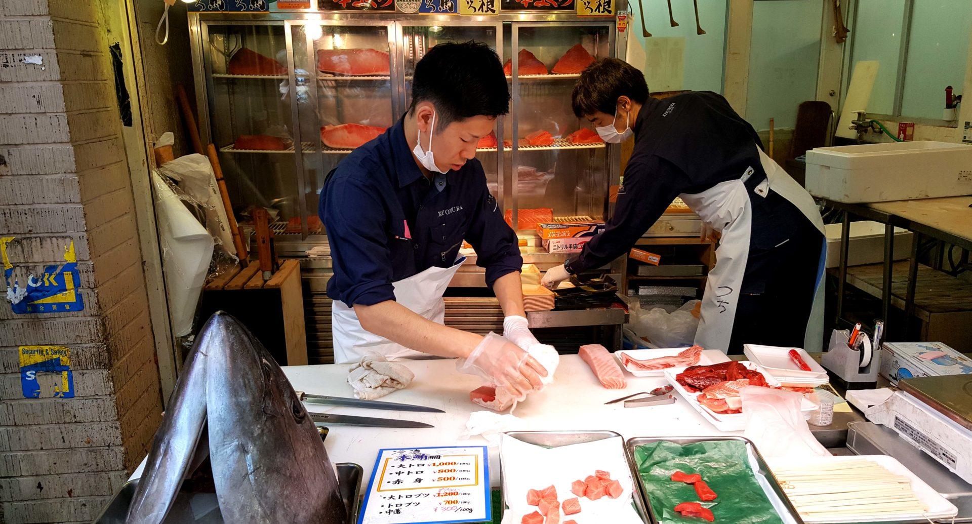 diario viaggio giappone tsukiji