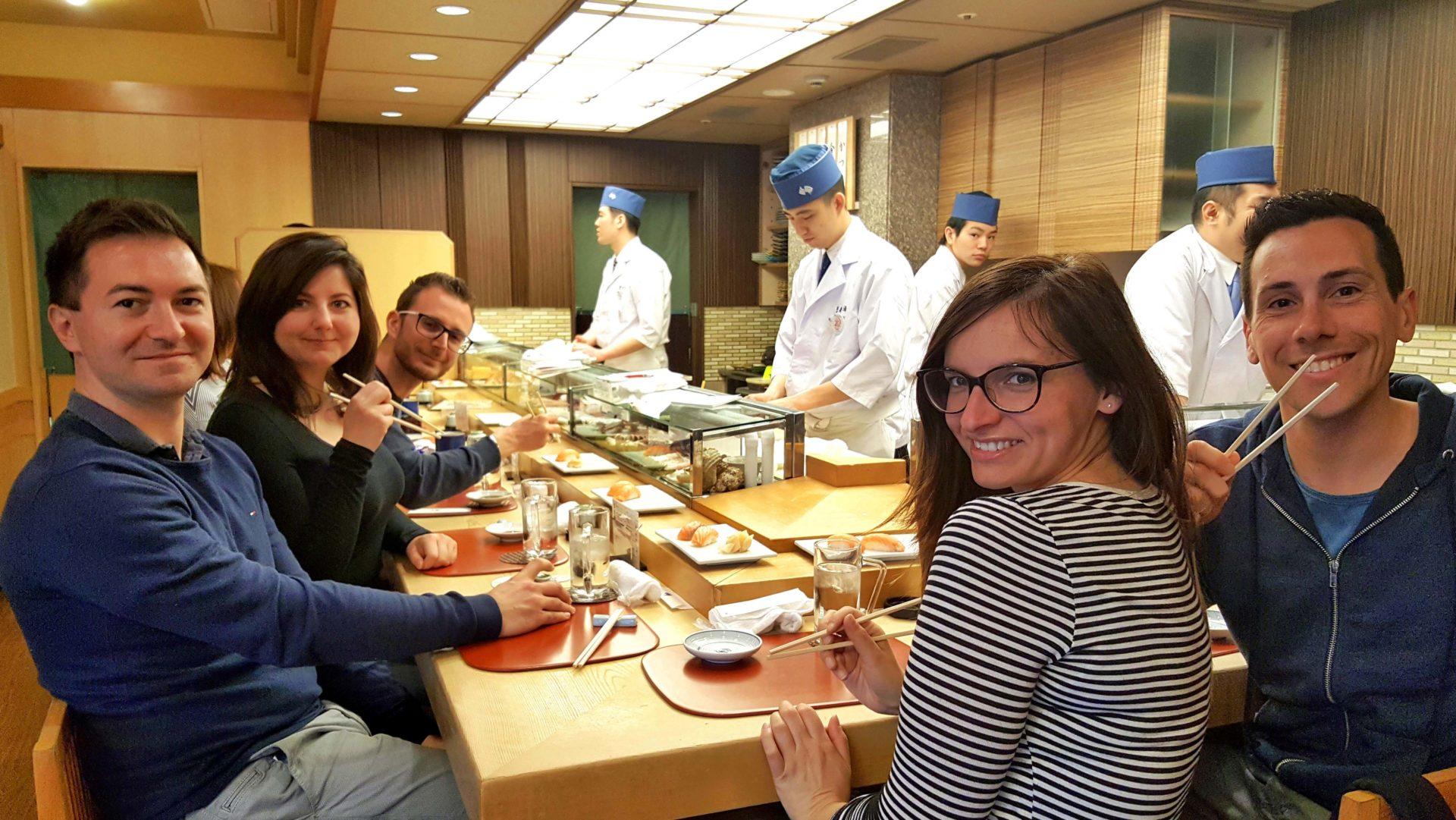 DIARIO DI VIAGGIO GIAPPONE sushi