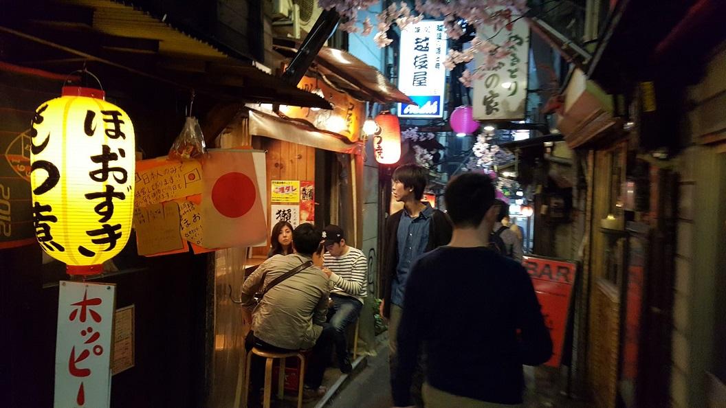 Golden Gai_tokyo_itinerario di viaggio in giappone