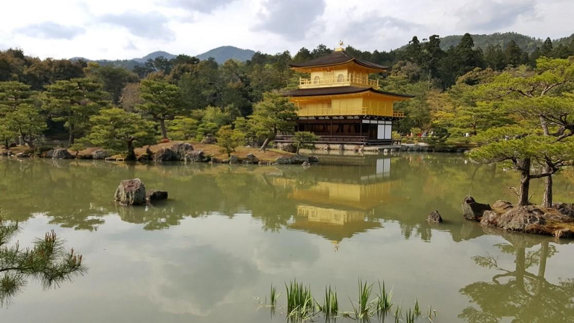 Kinkaku ji il tempio d'oro_Kyoto
