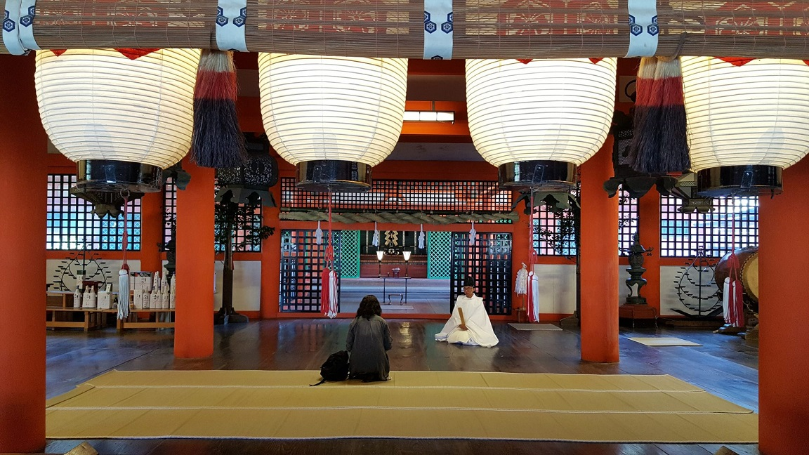 tempio sull'isola di Miyajima_itinerario di viaggio in giappone di 10 giorni