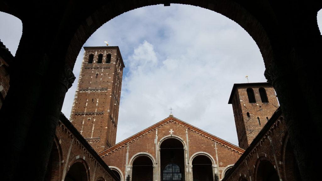 le chiese più belle di milano_sant'ambrogio