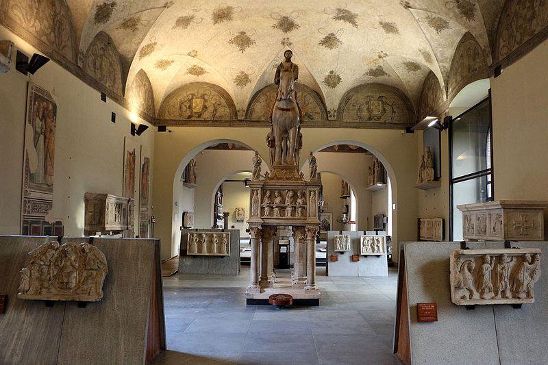museo d'arte antica_castello sforzesco milano