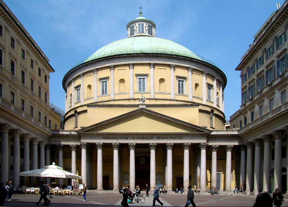 Chiesa di San Carlo al Corso a milano