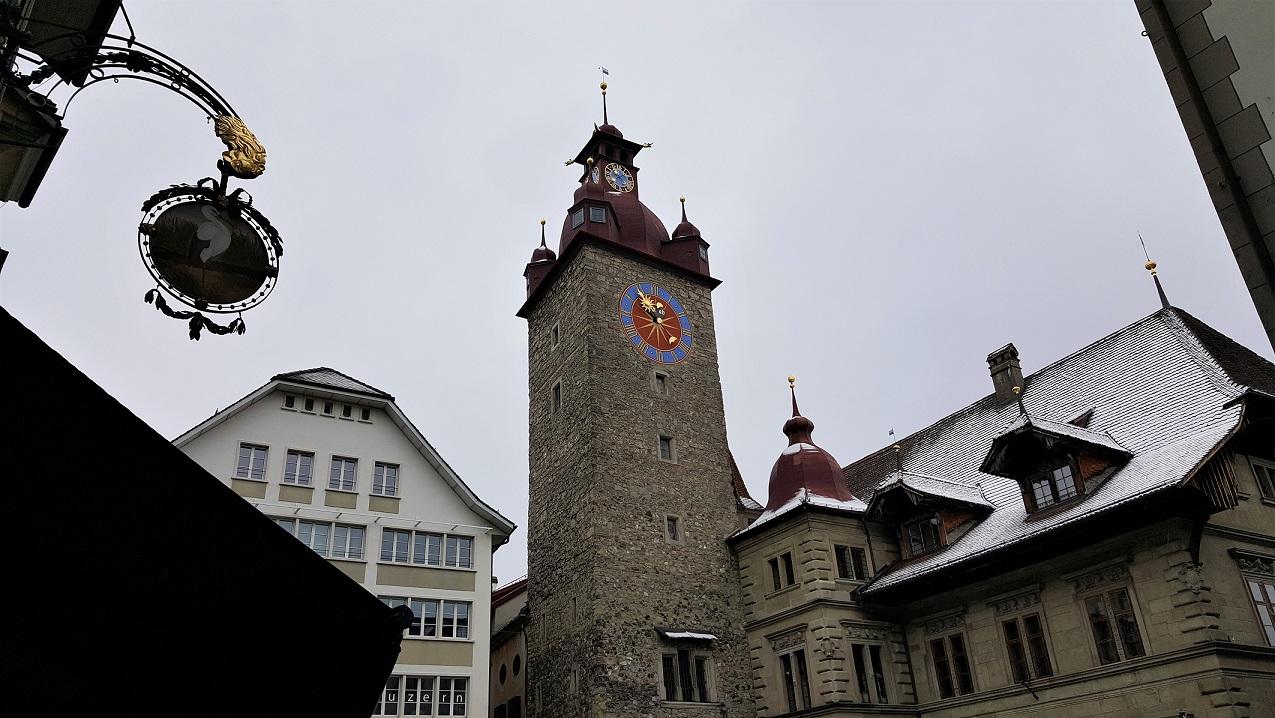 L'Altstadt di Lucerna in Svizzera
