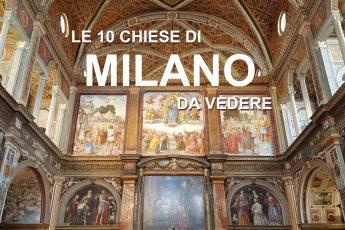 Itinerario tra le più belle chiese di milano
