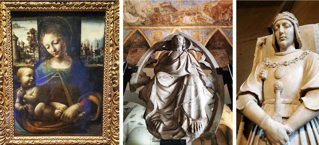 opere esposte nei musei del castello sforzesco di milano