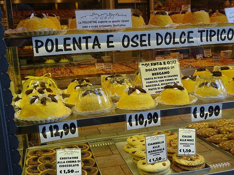 Dove comprare la polenta e osei dolce di bergamo