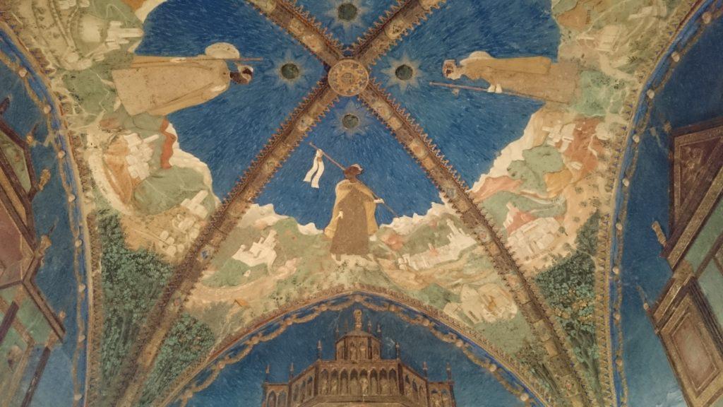 la camera d'oro del castello di torrechiara_interni