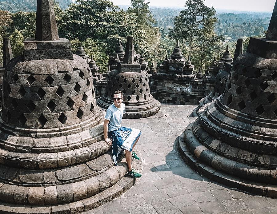 tusoperator tra i templi dell'indonesia