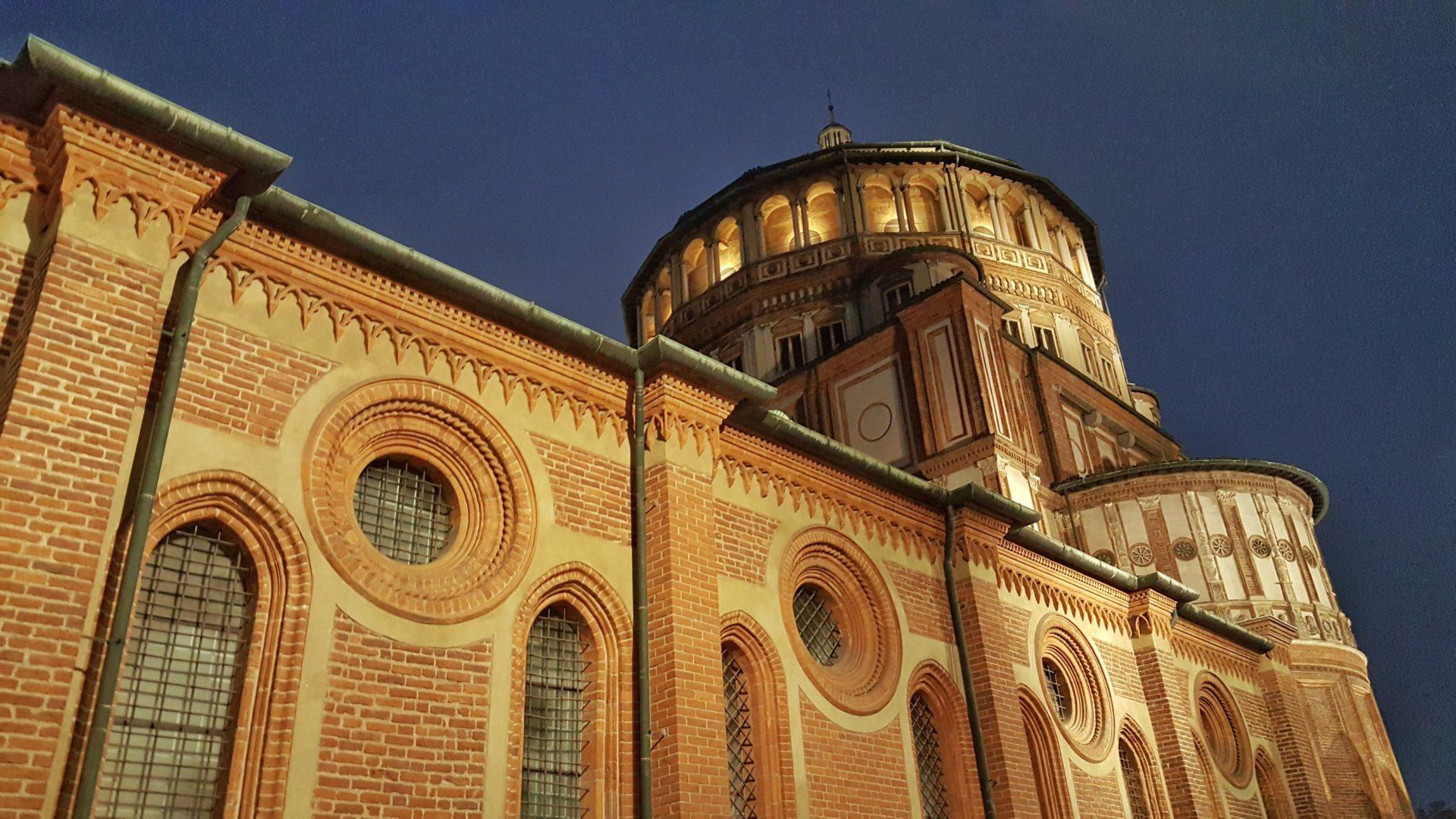 convento di Santa Maria delle Grazie_milano_ultima cena di leonardo