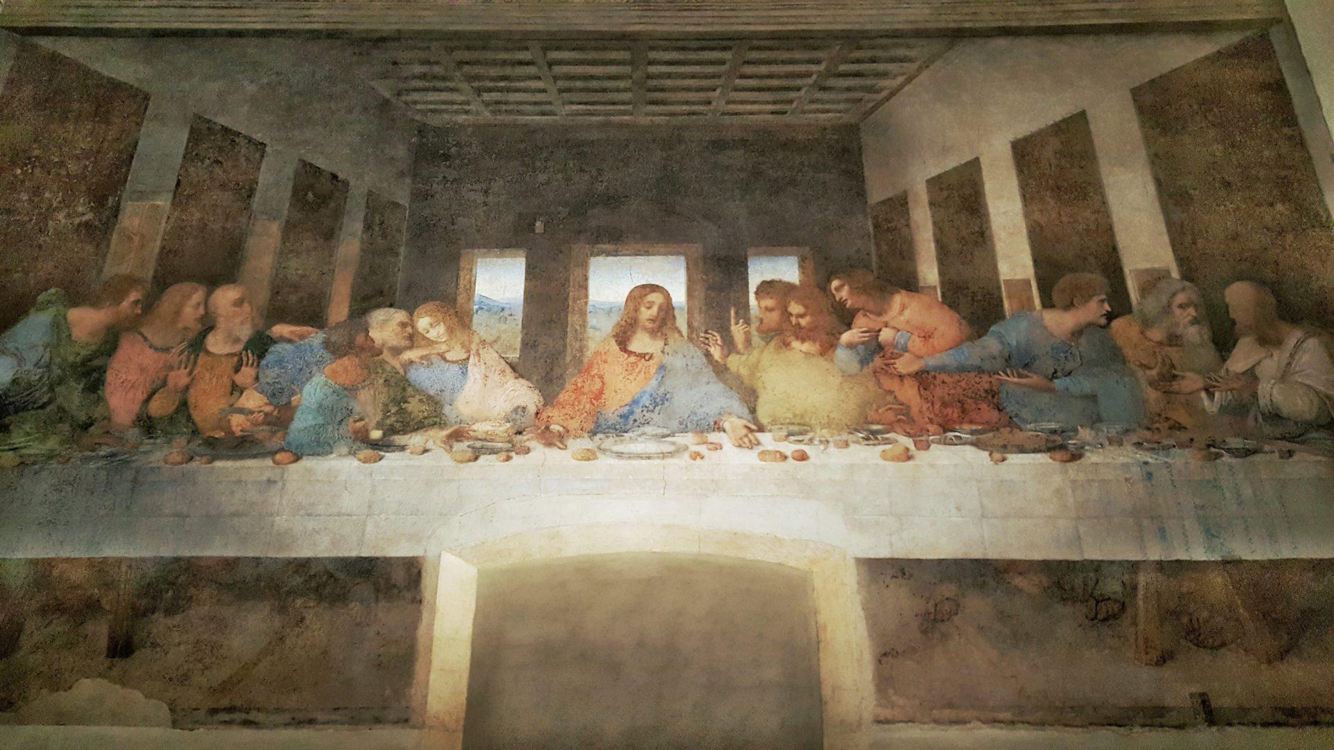 Il cenacolo vinciano a Milano