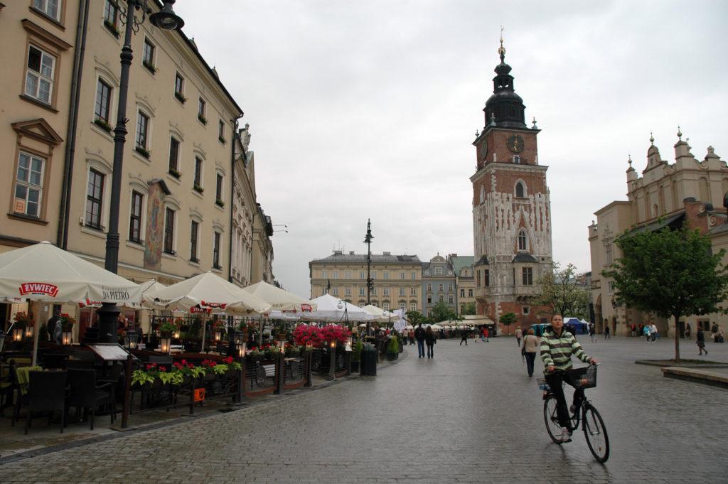 piazza centrale_cracovia_3 giorni