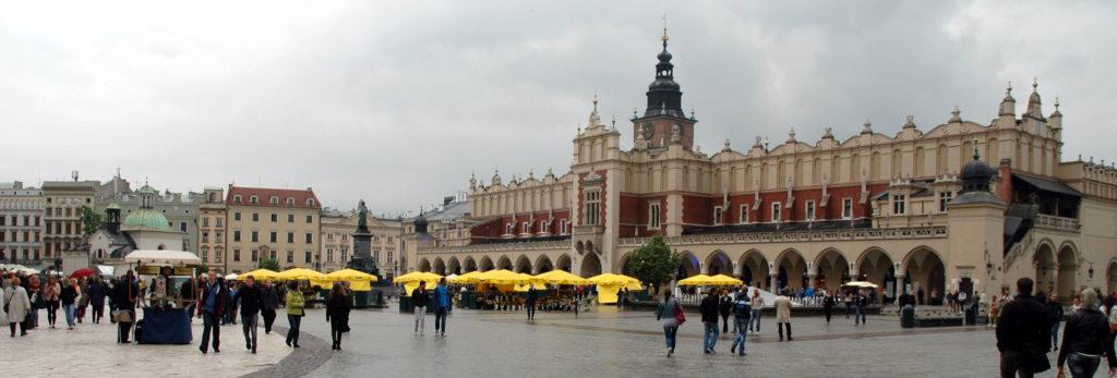 piazza del mercato centrale_cracovia_diario di viaggio